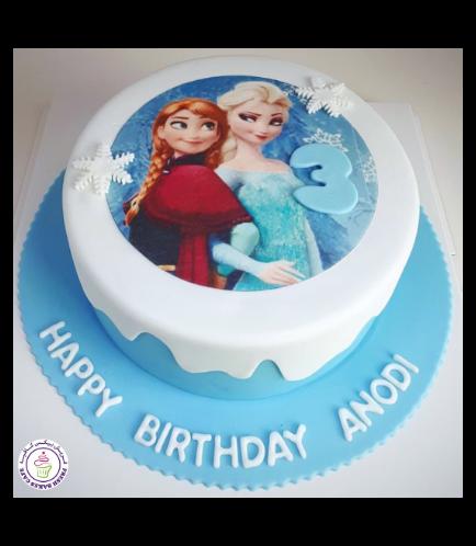 Frozen Themed Cake 29
