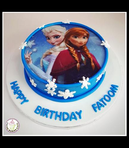 Cake - Picture - Printed Picture - Fondant Cake 01