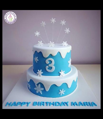 Frozen Themed Cake 30