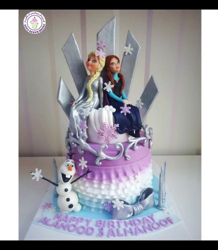 Frozen Themed Cake 31