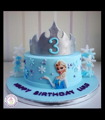 Frozen Themed Cake 33