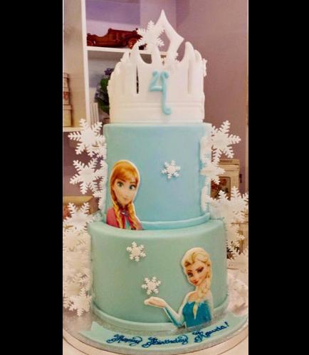 Frozen Themed Cake 18