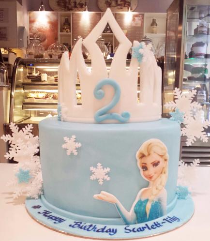 Frozen Themed Cake 17a