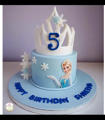 Frozen Themed Cake 17b