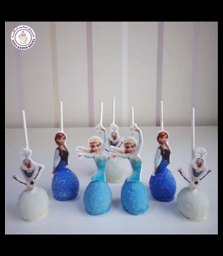 Frozen Themed Cake Pops 06