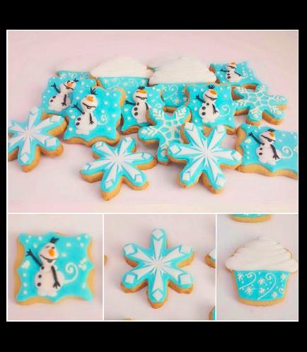 Frozen Themed Cookies 01