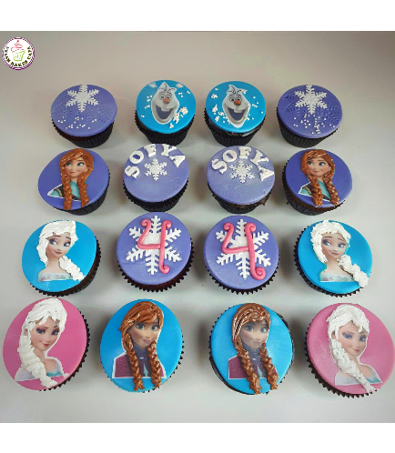 Cupcakes - Printed Pictures on Fondant 02