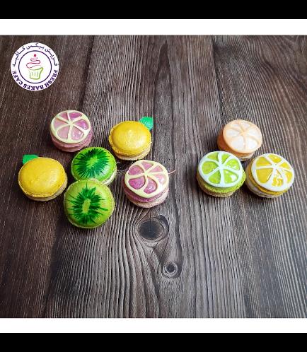 Fruits Themed Macarons