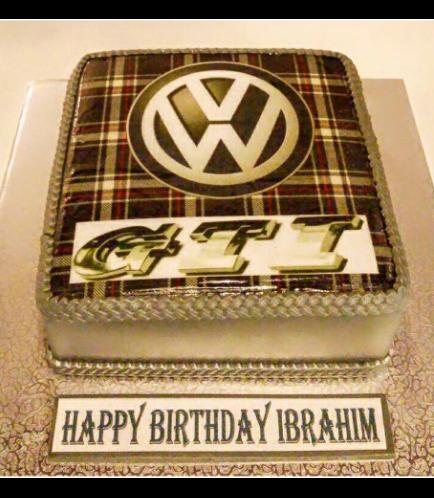 GTI Logo Themed Cake
