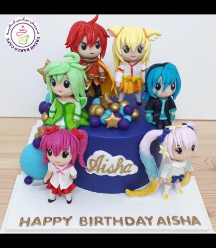 Gacha Themed Cake