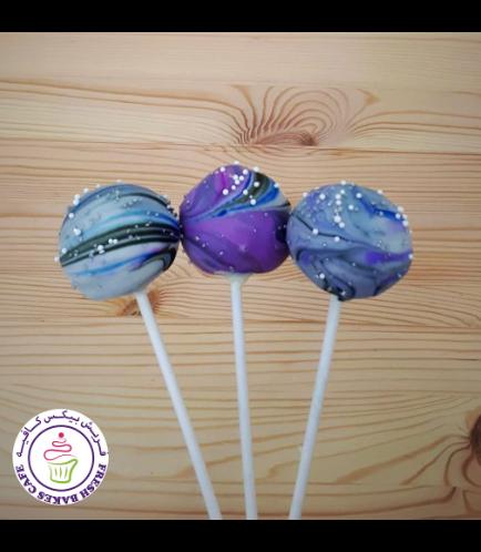 Cake Pops - Galaxy