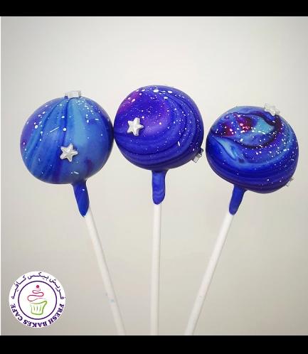 Cake Pops - Galaxy 02