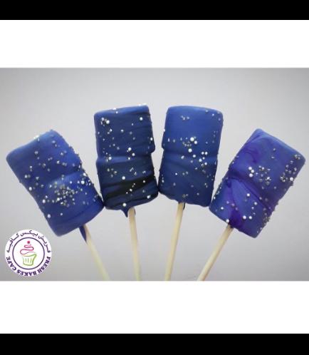 Marshmallow Pops - Galaxy