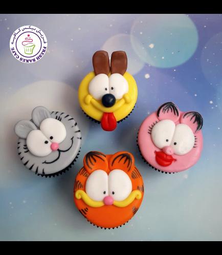 Garfield Themed Cupcakes