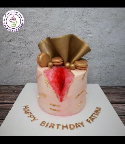 Cake - 1 Tier - Macarons