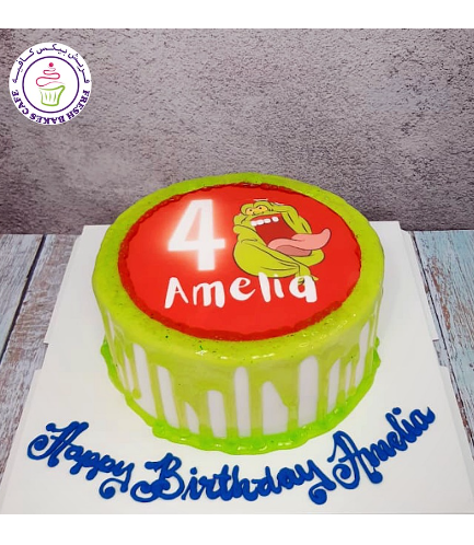 Ghostbusters Themed Cake 03