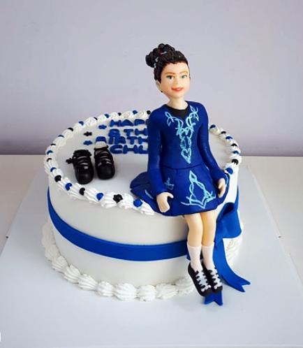 Girl Themed Cake 02
