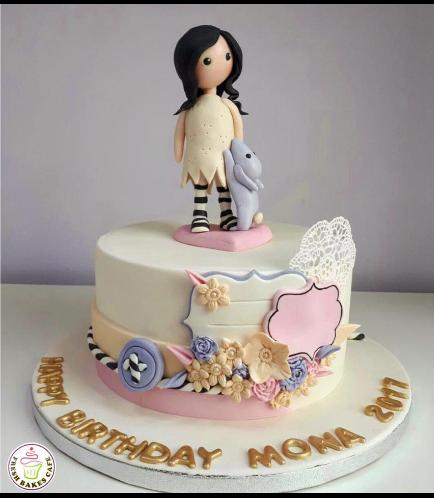 Girl Themed Cake 01