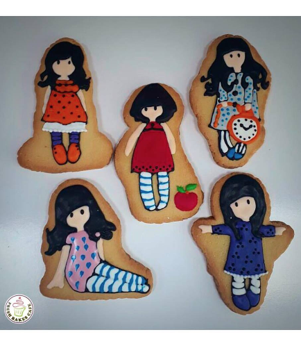 Girl Themed Cookies