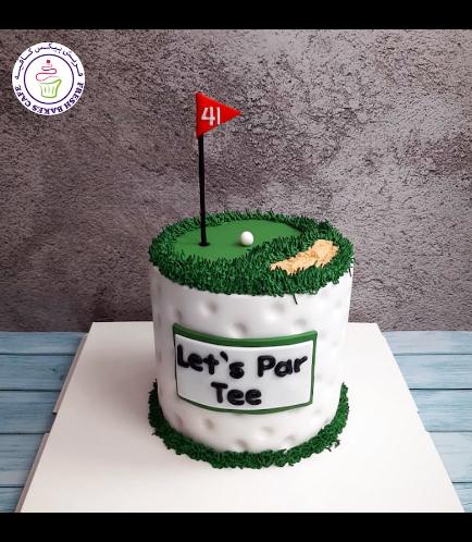 Golf Themed Cake - Round 01