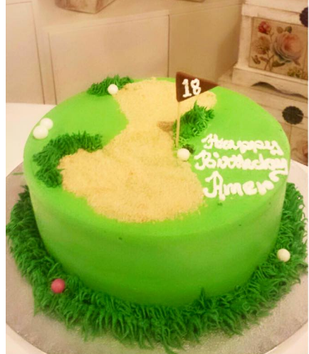 Golf Themed Cake 02