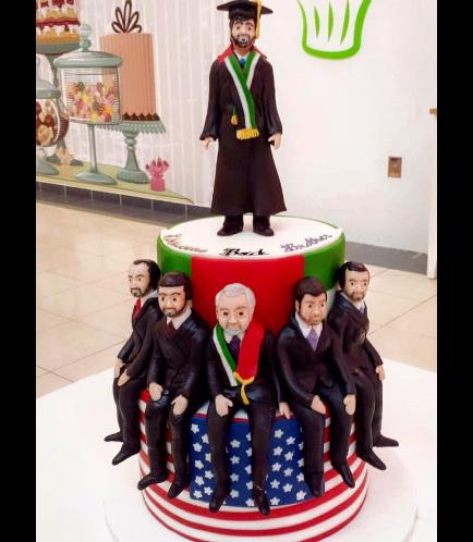 Graduation Themed Cake 3
