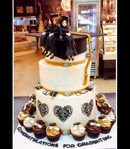 Graduation Themed Cake 6