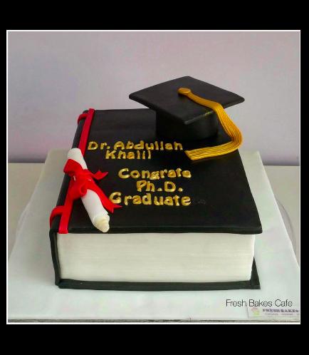 Graduation Themed Cake 8