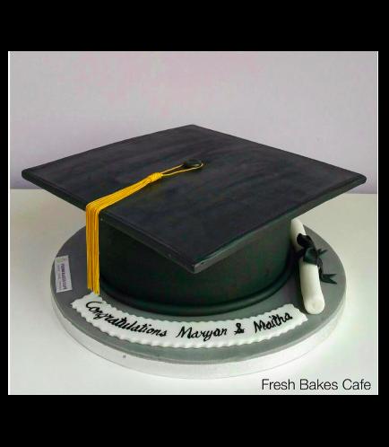 Graduation Themed Cake 10