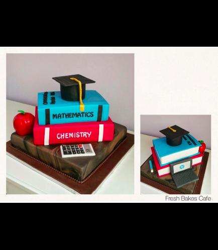Graduation Themed Cake 13