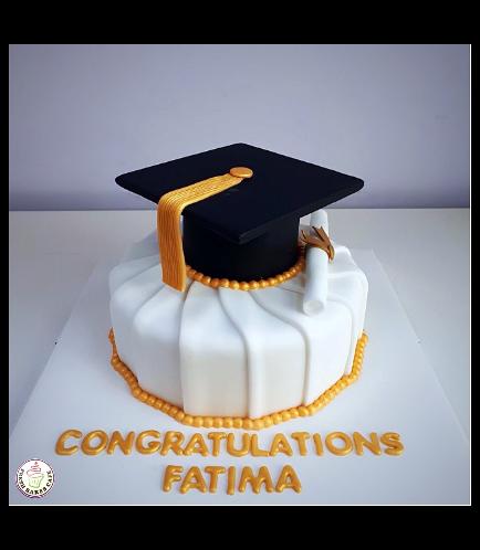 Graduation Themed Cake 15b