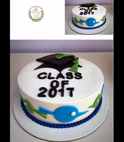 Graduation Themed Cake 19
