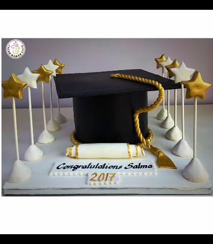 Graduation Themed Cake 16
