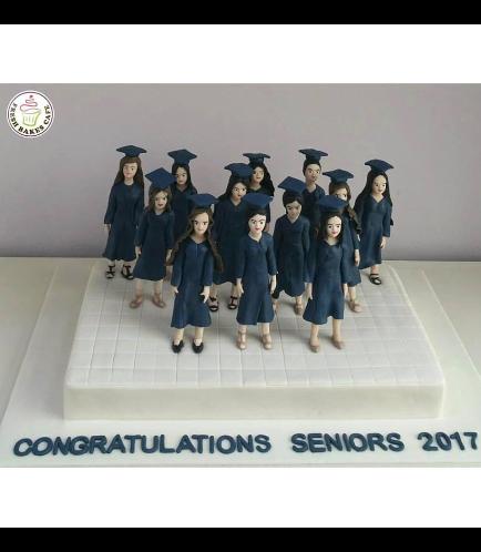 Graduation Themed Cake 23
