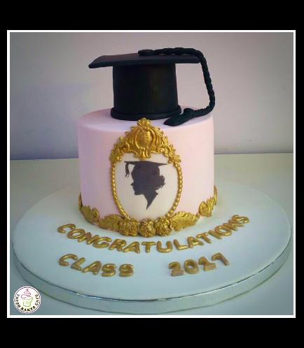 Graduation Themed Cake 25b