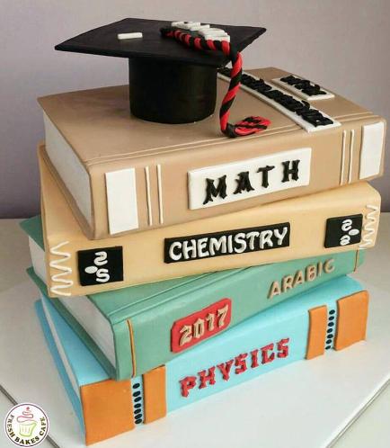 Graduation Themed Cake 27a