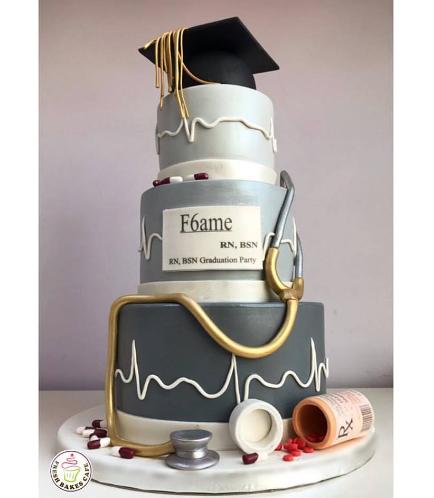 Graduation Themed Cake 29