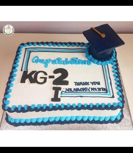 Graduation Themed Cake 30