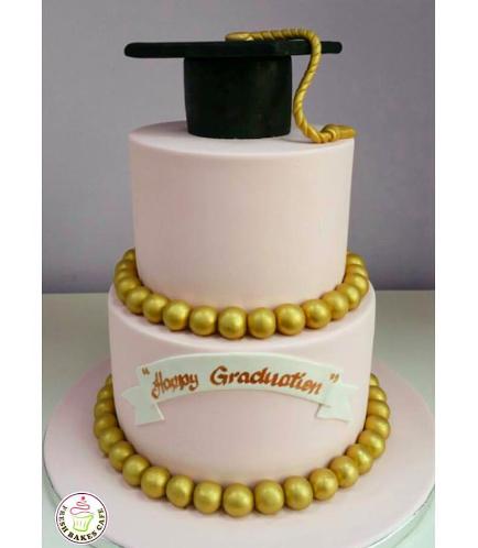 Graduation Themed Cake 1