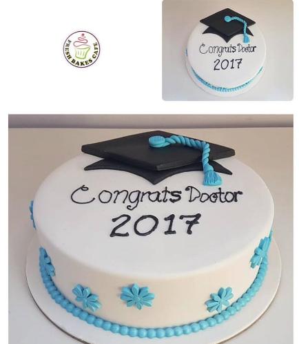 Graduation Themed Cake 32