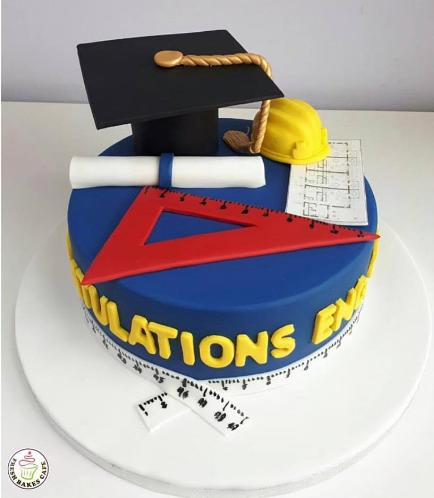 Graduation Themed Cake 37