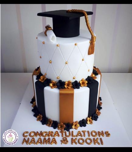 Graduation Themed Cake 38a