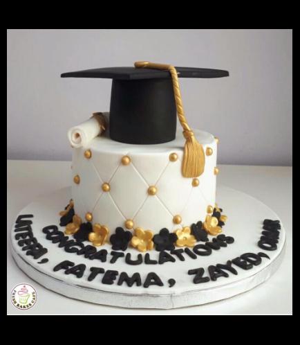 Graduation Themed Cake 38b