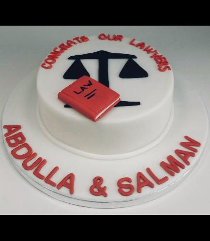 Graduation Themed Cake 40