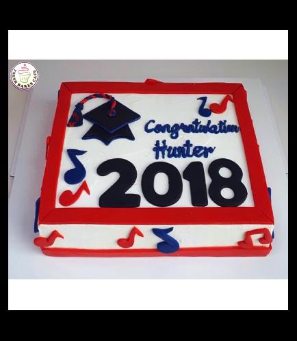 Graduation Themed Cake 47