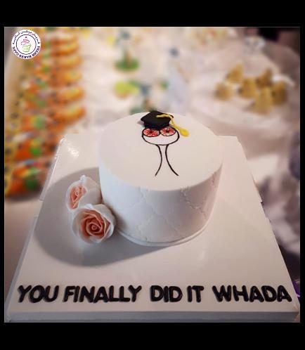 Graduation Themed Cake 48