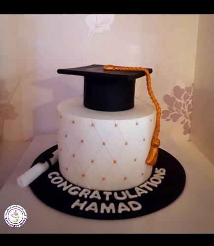 Graduation Themed Cake 49
