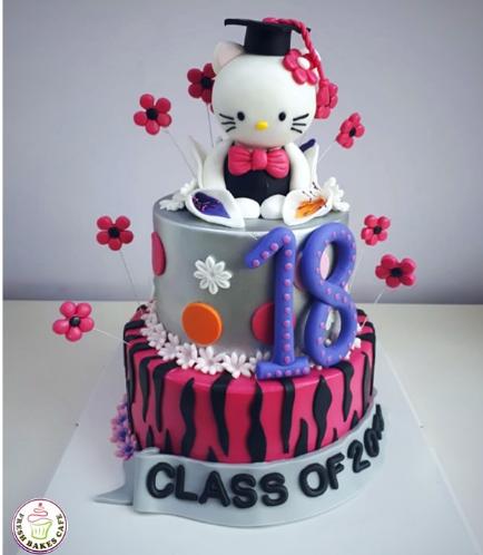 Graduation Themed Cake 50