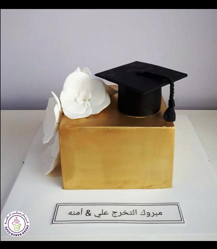 Graduation Themed Cake 53a
