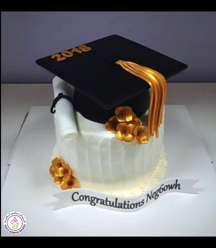 Graduation Themed Cake 54